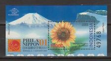 Indonesia Indonesie 2203 sheet B192 MNH Postzegel Tentoonstelling Tokio 2001