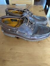 Timberland Men's Icon Three-Eye 43.5 EU Classic Shoe - Brown