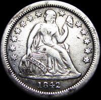 1842-O Seated Liberty Dime Silver ----  NICE  ---- #B281