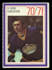 1970-71 ESSO POWER PLAYERS NHL #9 GORD LABOSSIERE EX-NM L A KINGS  UNUSED STAMP