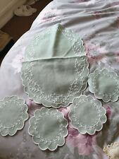Dressing table top cloths, assortment: 5 pc & 3pc sets