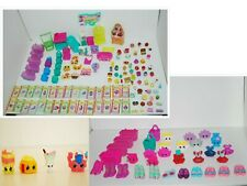 Moose Shopkins HUGE Lot Includes Figures Play Sets Baskets Bags Cards + More