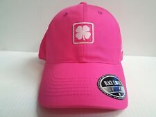 b33a5165f7efe Black Clover Live Lucky for U 4 Breast Cancer Pink white Adjustable Hat cap