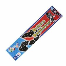 Black Dominoes box Game Travel Children Toy Double Six Kids Traditional Classic
