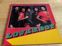 LOVERBOY Japan TOUR BOOK 1982  MIKE RENO concert program From Japan