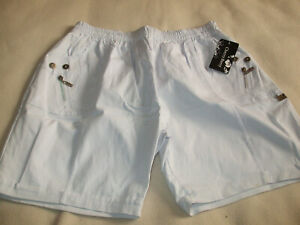 Womens  - Cherry Berry - Shorts - Size XL (24/26) - White