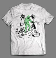 CREATURE FROM THE BLACK LAGOON INK ART HIGH QUALITY SHIRT *MANY SIZE OPTIONS