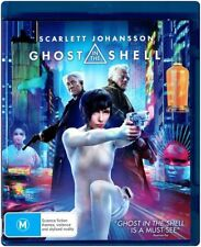 GHOST IN THE SHELL New Blu-Ray SCARLETT JOHANSSON ***