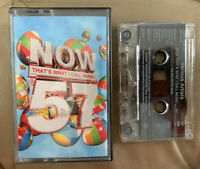 NOW 57 Cassette Tape X1 Tape Only Rare Now Thats What I Call Music