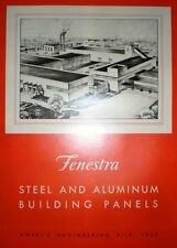 FENESTRA Detroit Steel Products Catalog ASBESTOS 1949 Vermiculite