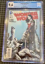 Wonder Woman 40 1:100 Retailer Incentive Jae Lee Variant Cover CGC 9.6