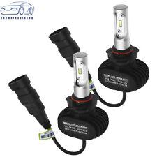 Pair S1 LED Headlight Kit 9005 HB3 H10 9140 9145 180W 6000K White 28500LM Bulbs