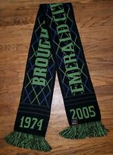 RARE ECS 2005 Emerald City Supporters Seattle Sounders FC Scarf Soccer Brougham