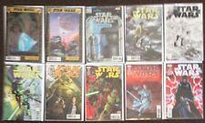 10 Star Wars comics # 30,32,A 32,B 33,A33,B 34,35,37,38,1 annual, variant Marvel