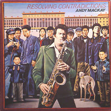 ANDY MACKAY Resolving Contradictions FR Press Bronze BRO 2029 1978 LP