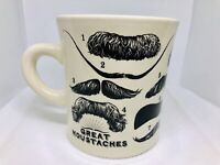 Great Moustaches Of 14 Famous People Coffee Tea Cocoa Mug