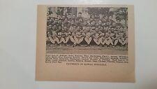 Hawaii University Rainbow Warriors Honolulu 1929 Football Team Picture