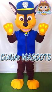 Chase Mascot Paw Patrol Costume cosplay botarga halloween cartoo Cielito MASCOTS