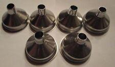 New Stainless Steel Mini Funnel for Essential Oil Bottles / Flasks - Pack of 6