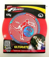 Ultimate Frisbee Sport Disc Wham-O Brand 175g Red with White and Blue 2016