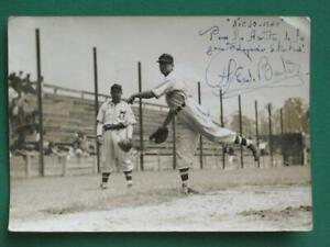 1940 AGRARIO DE MEXICO BASEBALL BEISBOL BLACK AND WHITE SIGNED PHOTO