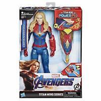 Marvel Avengers: Endgame Titan Hero Power FX Captain Marvel12 Inch Action Figure