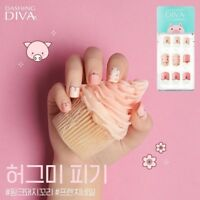[DASHING DIVA] Magic Press Gel Nail Art Polish Manicure 30 pcs HUG ME PIGGIES