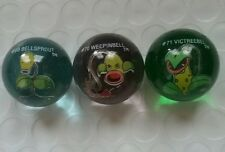 POKEMON MARBLE Lot #69 Bellsprout #70 Weepinbell #71 Victreebel GLASS RARE