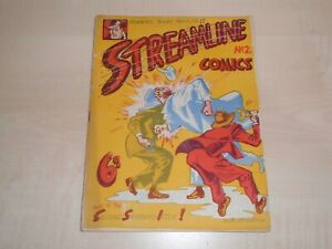 1947 Streamline Comics No2 Second Issue Denis Gifford Artwork