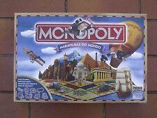 jeu de société Monopoly merveilles du monde en Portugais (maravilhas do mundo)