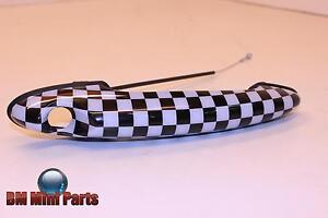 MINI Checkered Door Handle Drivers Side 51210422089
