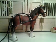 Schleich hand made horse harnesses