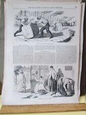 Vintage Print,NEW ORLEANS,Ballous,1850s