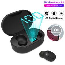 New 5.0 TWS Wireless E6S Headphones Earphones earbud  In-Ear for iphone Samsung