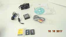 Nikon-COOLPIX-S8200-16-1MP-Digital-Camera-Black-S8200-PARTS-OR-REPAIR