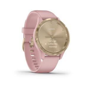 Garmin vivomove 3S Watch Champagne Wristband: Dust Rose - Silicone