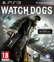 The Watch Dogs PlayStation 3 Game PS3 Fast Post UK