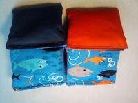 Shark Cornhole Bags corn hole bags regulation made