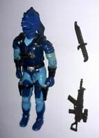 GI JOE Figurine ARAH Vintage CUSTOM COBRA BLUE KRAKEN Action Force Figure