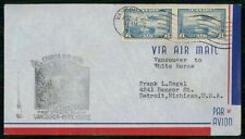 Mayfairstamps Canada First Flight Cover 1939 Vancouver to White Horse wwh30367