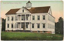 East Side School in Derry NH Postcard