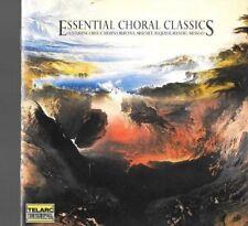 cd ESSENTIAL CHORAL CLASSICS classical music verdi mozart bach handel haydn etc