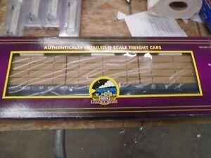 MTH 20-98306 BC RAIL Centerbeam Flatcar w/ Lumber Load
