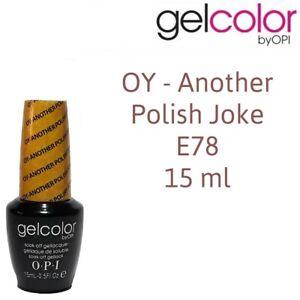 O.P.I Gel Color OPI Polish Soak Off UV LED 15 ml Nail Polish