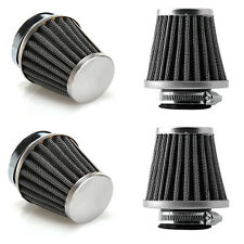 4pcs 50mm Inlet Universal Tapered Motorcycle Cold Air Pod Filter Cone Custom