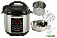 Multi Use Cooker 10 in 1 Programmable Pressure Cooker 6 Quart 1000W Insta pot