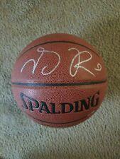 Derrick Rose Signed Basketball (Spalding NBA)