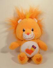 "2004 Brave Heart Lion 10.5"" Plush Stuffed Beanie Baby Figure Care Bears Cousin"
