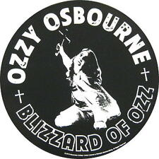 OZZY OSBOURNE RÜCKENAUFNÄHER / BACKPATCH # 2 BLIZZARD OF OZZ - 29cm
