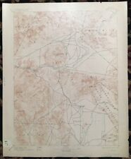 USGS Topographic Map 1894 Data WABUSKA QUADRANGLE, NEVADA
